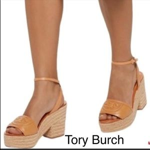 NWT Tory Burch Authentic Fleming 100mm leather